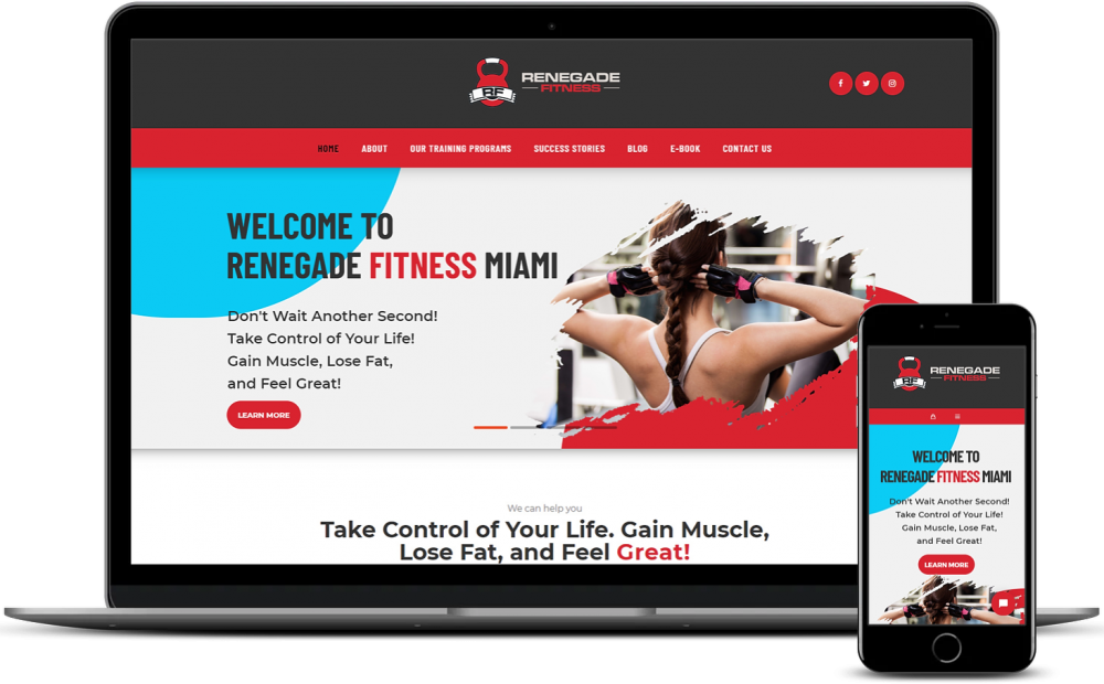 Renegade Fitness Miami WooCommerce Development