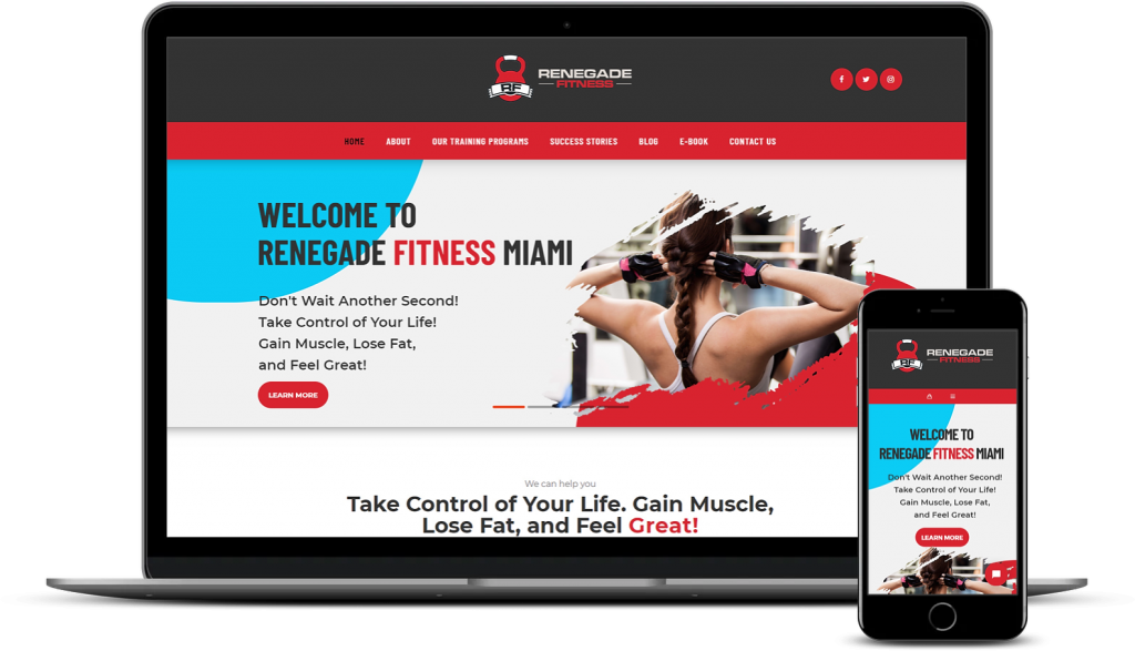 Renegade Fitness Miami WooCommerce Development