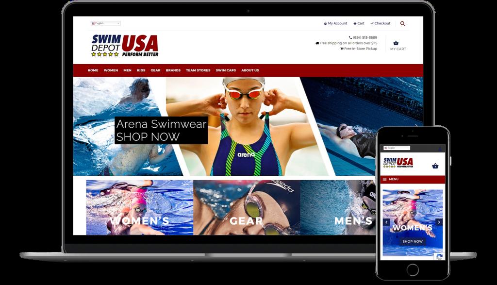 SwimDepot USA WooCommerce development