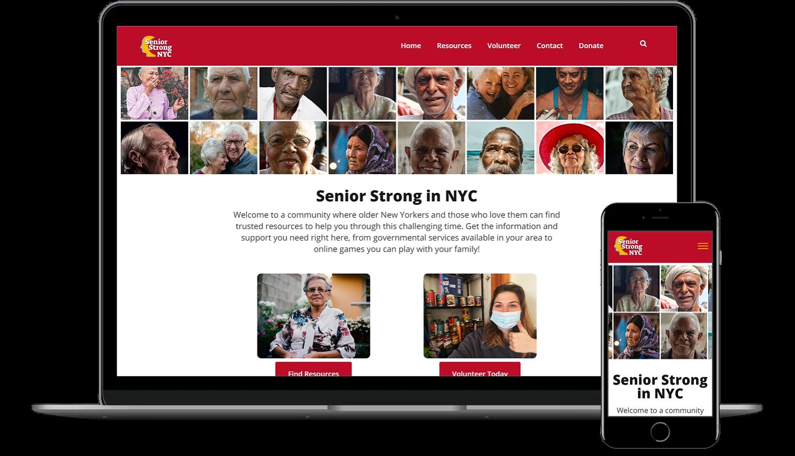 Wordpress Development for Senior Strong NYC